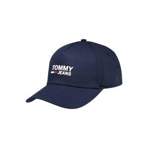 Tommy Jeans Čiapka 'TJM LOGO CAP'  tmavomodrá