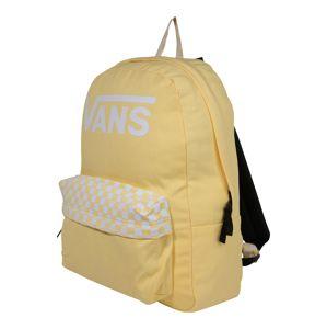 VANS Batoh 'REALM'  biela / žlté