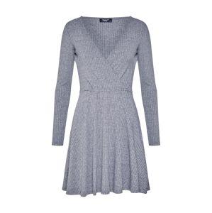 SISTERS POINT Pletené šaty 'PRO-W.DR'  sivá