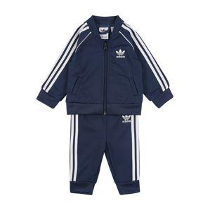 ADIDAS ORIGINALS Tréningový komplet 'Superstar Suit'  biela / námornícka modrá